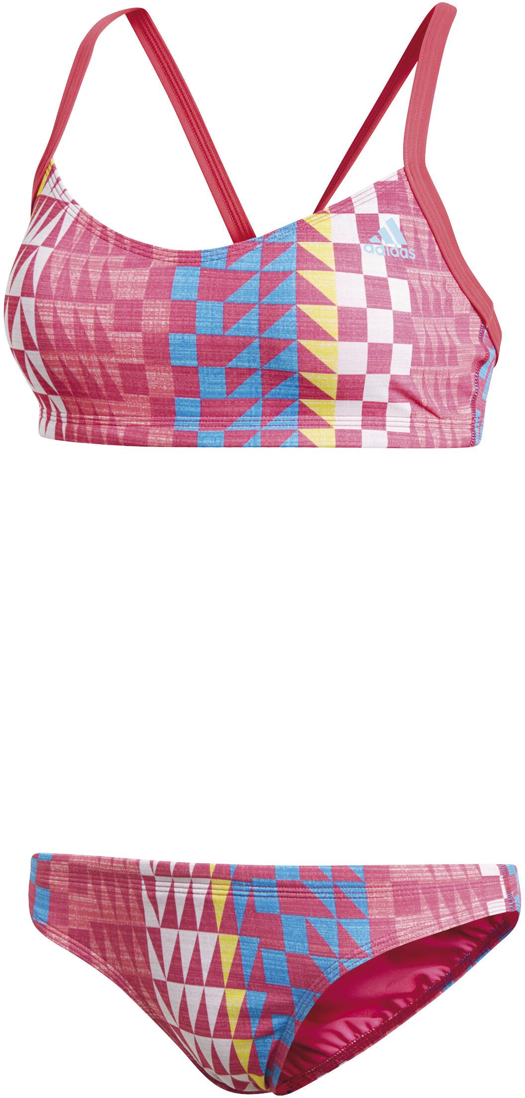 ff4b1410ccb adidas Allover Print bikini Dames roze/blauw l Online outdoor shop ...